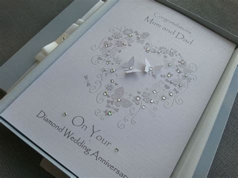 Pin by Sharlene Gill on Cards   60 wedding anniversary
