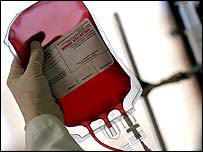 Sangre lista para transfusión