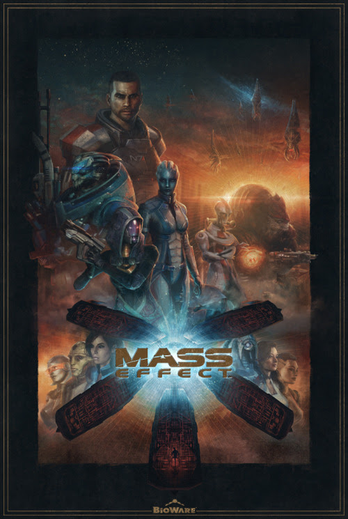 Mass Effect by Sam Spratt