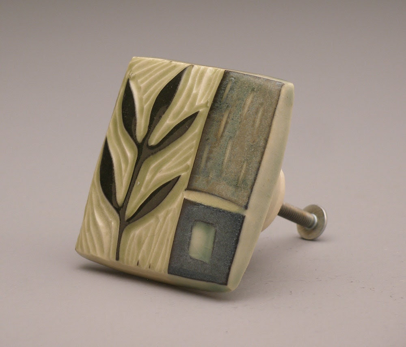 Leafy Stem- cabinet/drawer pull- Ruchika Madan