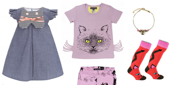 Kids Fashion: The Cat's Meow