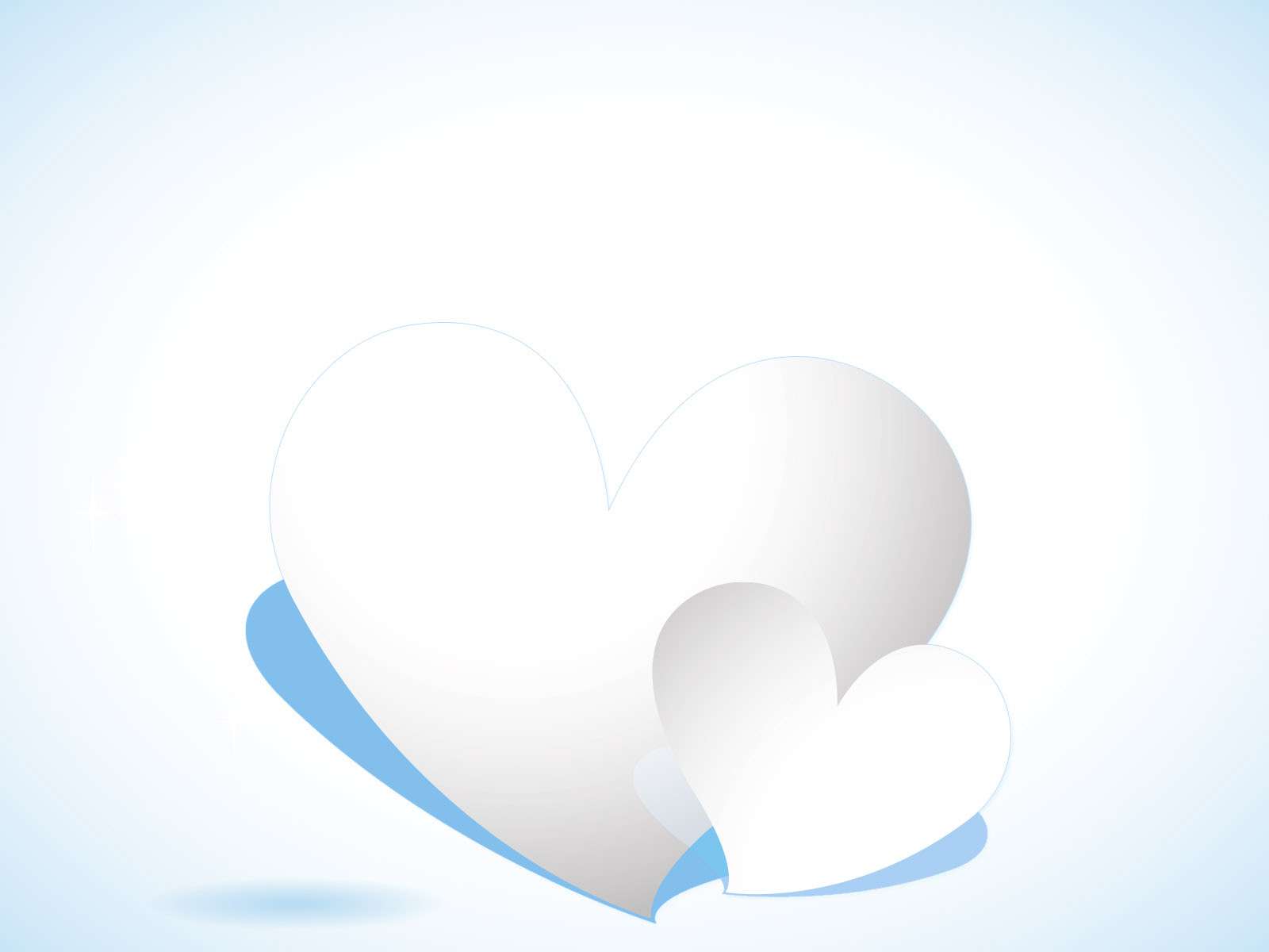 Ice Heart Powerpoint Templates 3d Graphics Love Silver Free Ppt Backgrounds And Templates