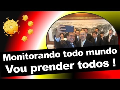 BOMBA DORIA MANDA POLICIAIS DE MADRUGADA NA CASA DE OPOSITORES PARA INTIMIDAR ! 🛑 MONITORAMENTO