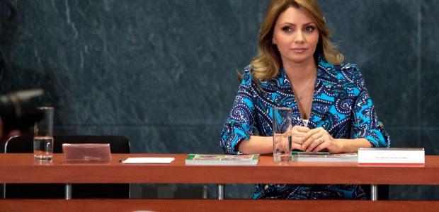 Angélica Rivera, esposa de Enrique Peña Nieto. Foto: Eduardo Miranda