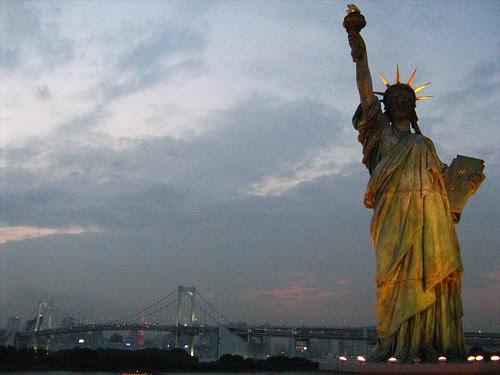 Odaiba's Statue of Liberty