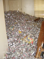 70000 beer cans