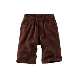 Ticking Stripe Shorts