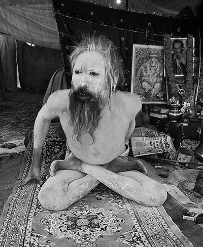 Naga Babas Tantric Yoga MahaKumbh by firoze shakir photographerno1
