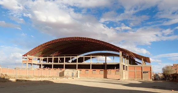 Lo que debería ser el nuevo Coliseo Deportivo