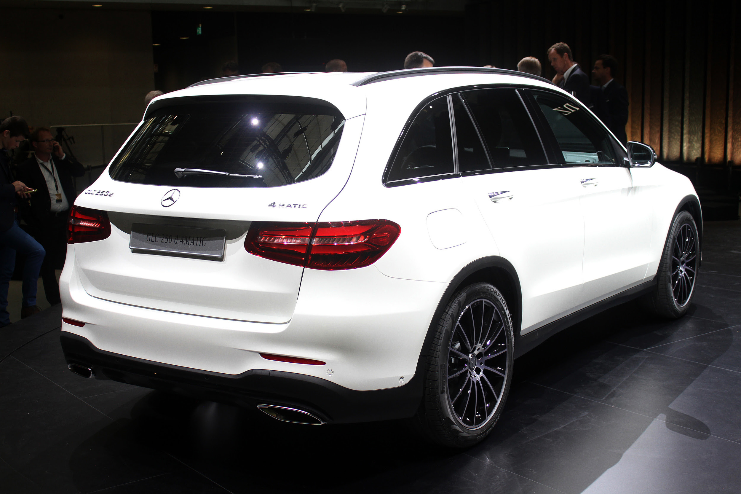 2016 Mercedes-Benz GLC live from Germany | Autoblog