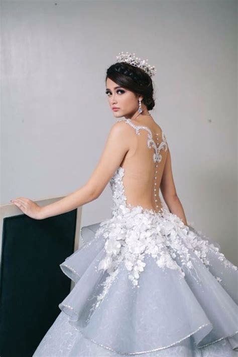 Debutant Gown by a Filipino designer Mak Tumang.   Fashion
