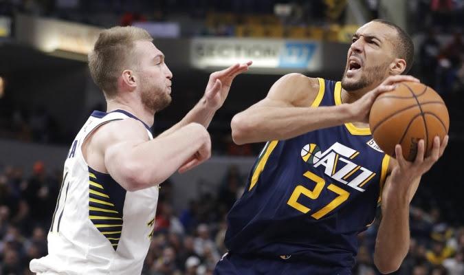 Utah frenó el nivel de los Pacers / Foto AP