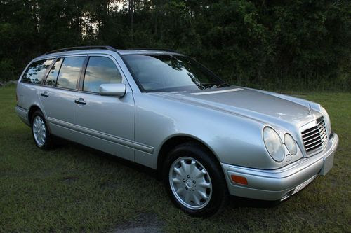 Sell used 1999 Mercedes-Benz E320 Wagon 4Matic Let 77+ Pic ...