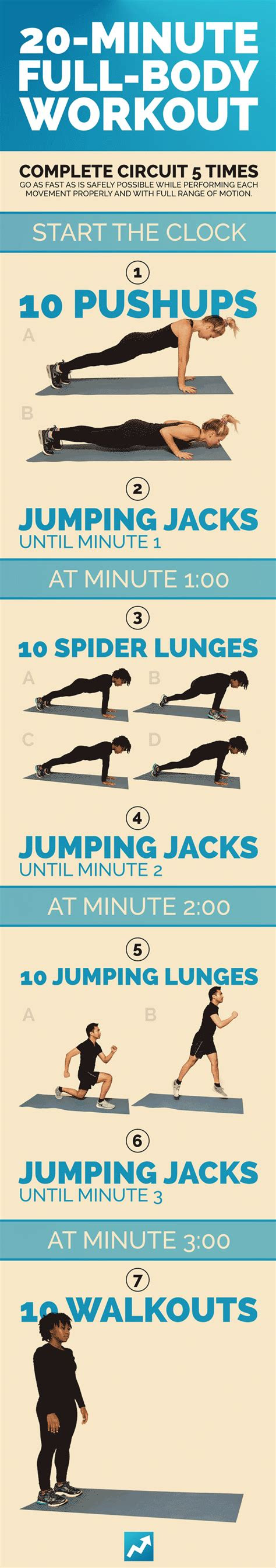 quick total body workouts  equipment needed