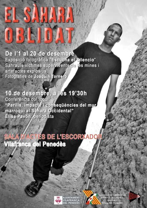 ACAPS organiza una conferencia-coloquio sobre víctimas de minas en el Sahara Occidental en el día internacional de los DDHH