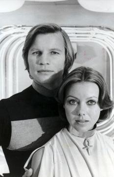Sci-fi inspiration: Michael York and Jenny Agutter in Logan's Run