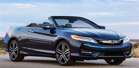 honda accord rendered  cabrio review specs