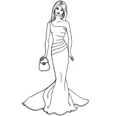 chelsea barbie  free coloring pages