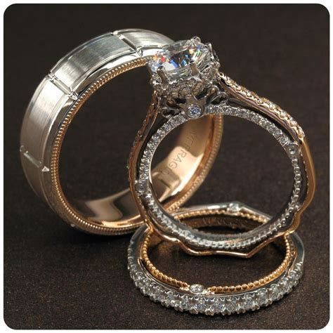 10 best Verragio Bridal Trios images on Pinterest