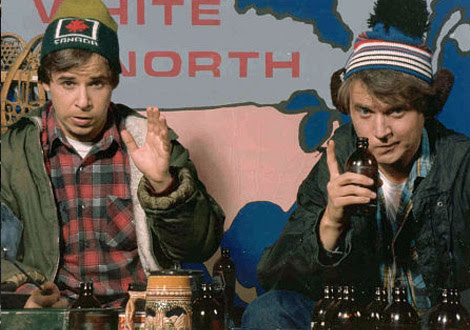 Bob and Doug in the Great White North
