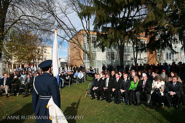 Honoring Veterans Flag Raising-02
