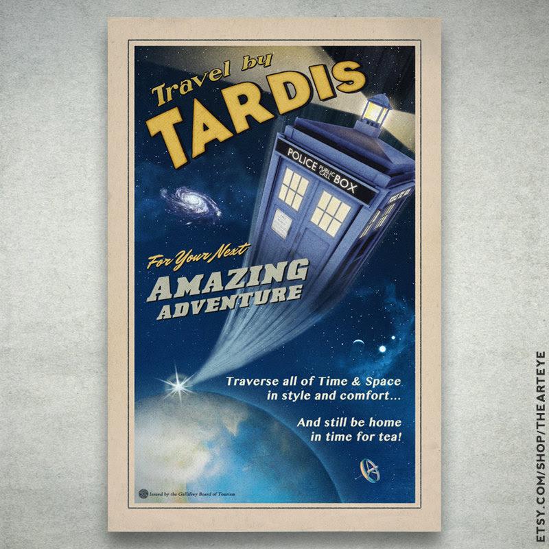 Travel by TARDIS