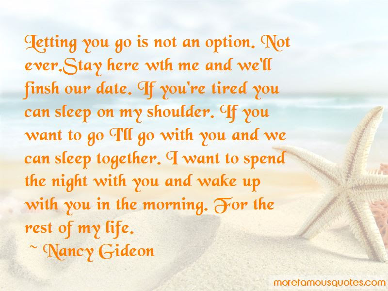 Spend The Night With You Quotes Top 45 Quotes About Spend The Night
