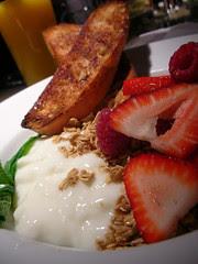 "The ""healthy"" breakfast @ Milestones"