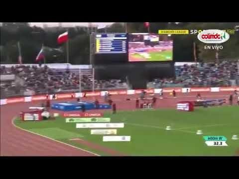 Ver Vídeo: Dominicana Marileidy Paulino  gana oro en Lausana zuiza con tiempo de 50 40 segundos.