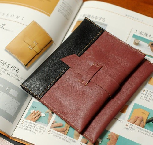 Mairuru leather craft and stamp tags my new pouches for Wholesale leather craft supplies