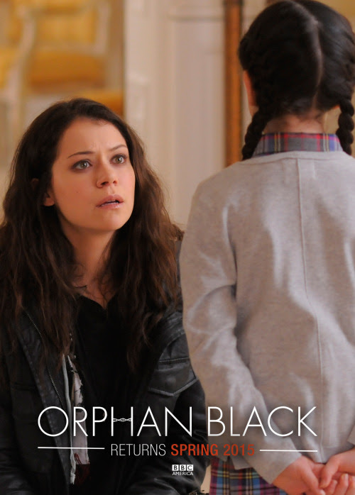 Orphan Black returns Spring 2015 to @bbcamerica. Start the countdown now, #CloneClub.