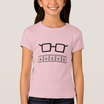 Books chemcial Element Nerd glasses Zh6zg T-Shirt