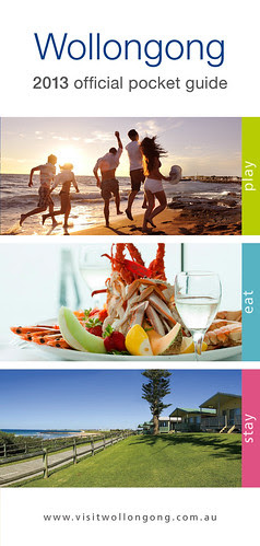 New 2013 Pocket Guide Destination Wollongong