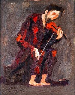 olio su tela cm 30x24, collezione privata