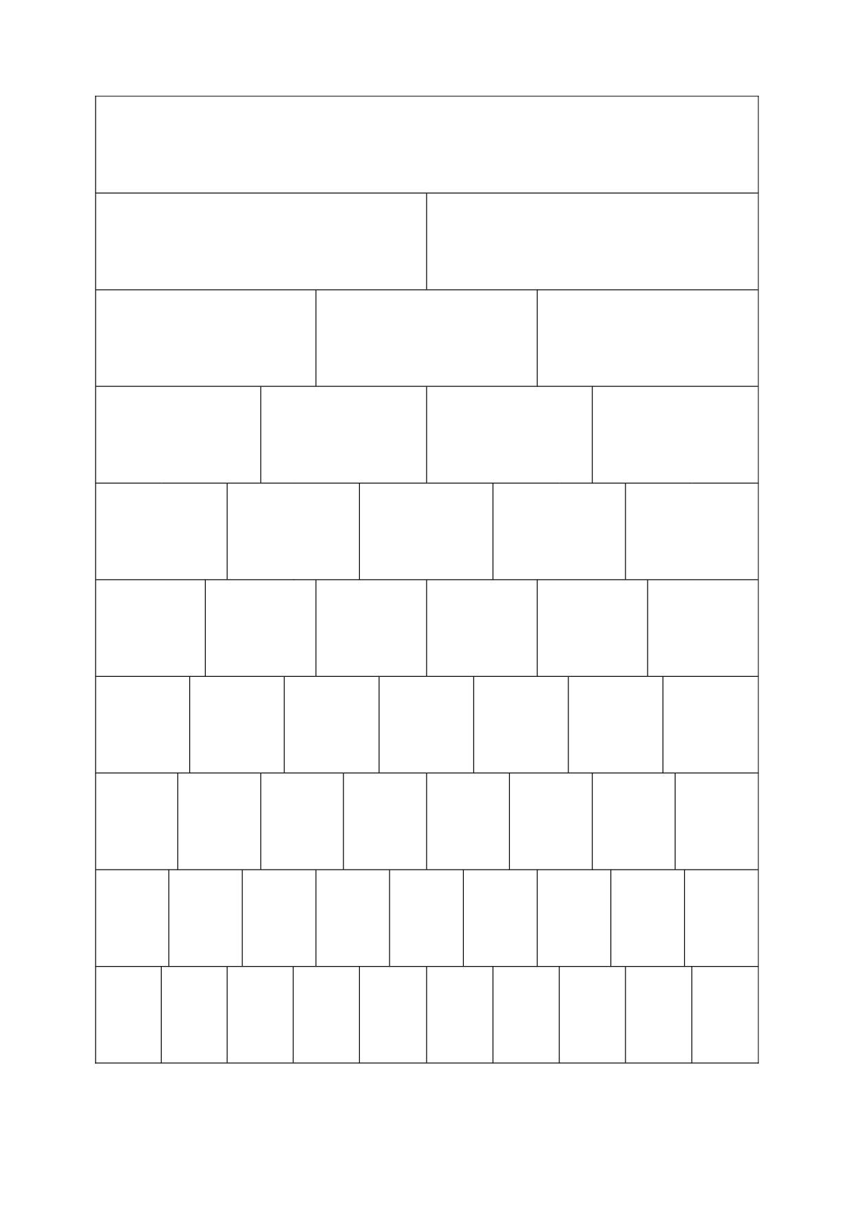 blank fraction wall  calendar june  best images of printable fraction wall  blank fraction wall