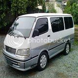Toyota Hi-Ace Van