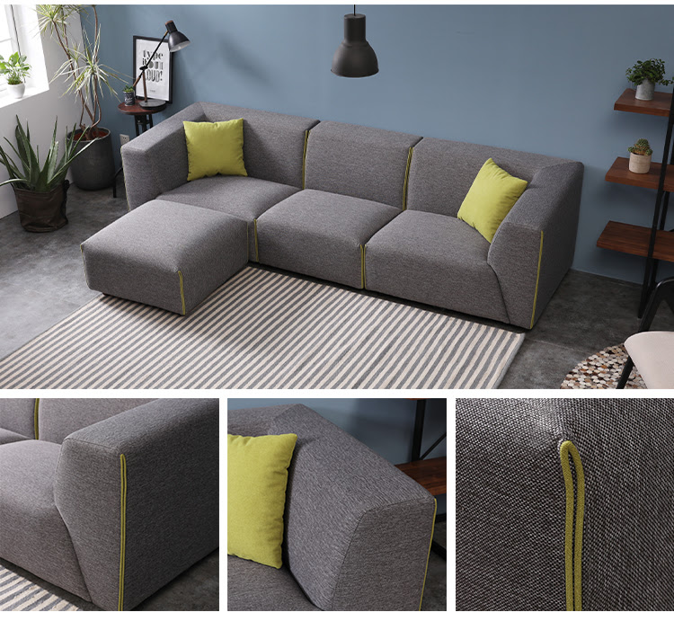 Top Quality Home Furniture Application New L Shaped Room ...