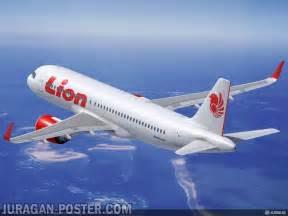 jual poster gambar pesawat lion air jual poster