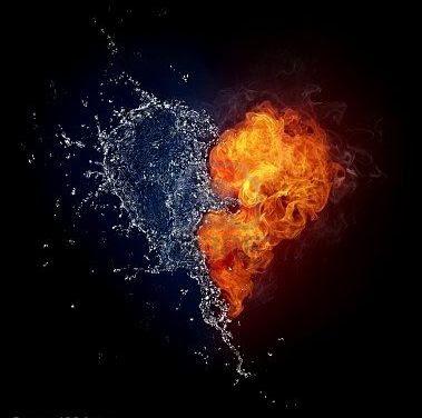 agua corazon y fuego