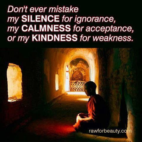 Quotes About Silence And Weakness 24 Quotes