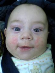 polka dotted boy