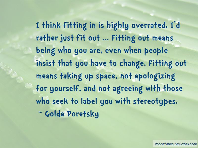 Quotes About Not Apologizing For Being Yourself Top 1 Not