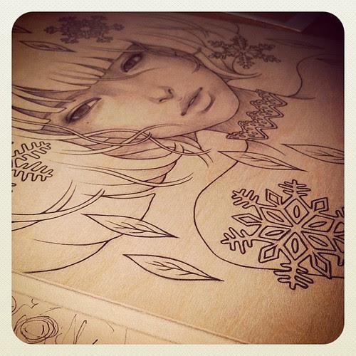 . in progress. side project. 4/5 . by audkawa