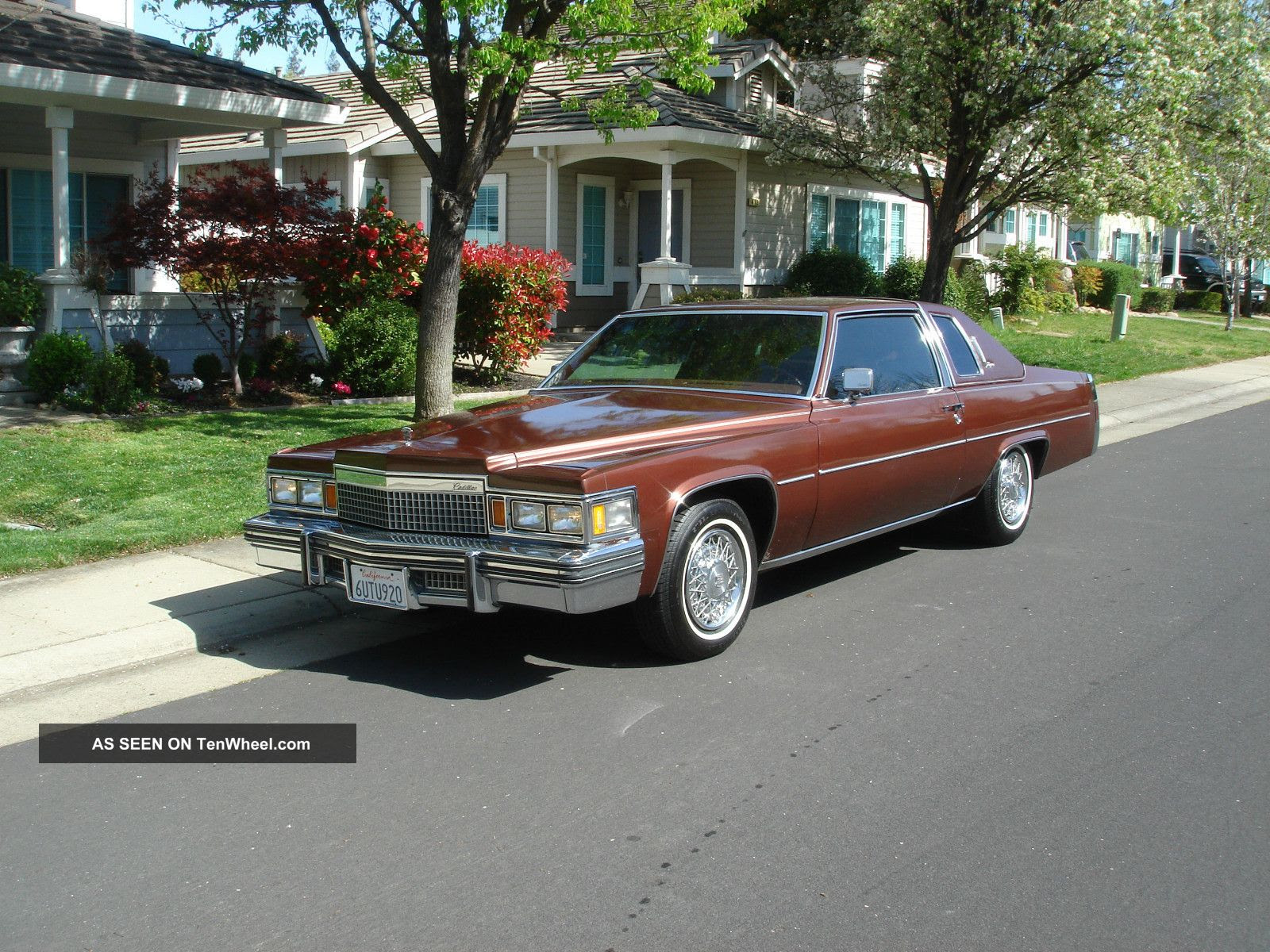 1979 Cadillac D ' Elegance Coupe Deville Paint And Top