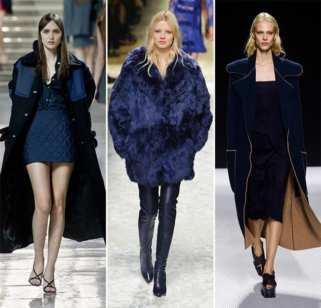 Fall/ Winter 2014-2015 Color Trends: Navy Blue
