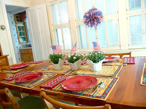 Table Set for 4th!