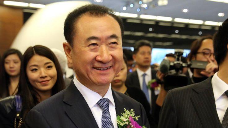 Ông chủ Dalian Wanda Vương Kiện Lâm