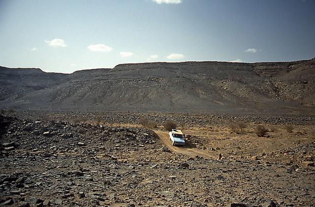 Montagne russe nel Sahara!