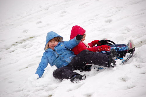 Sledding at Forglen - 03