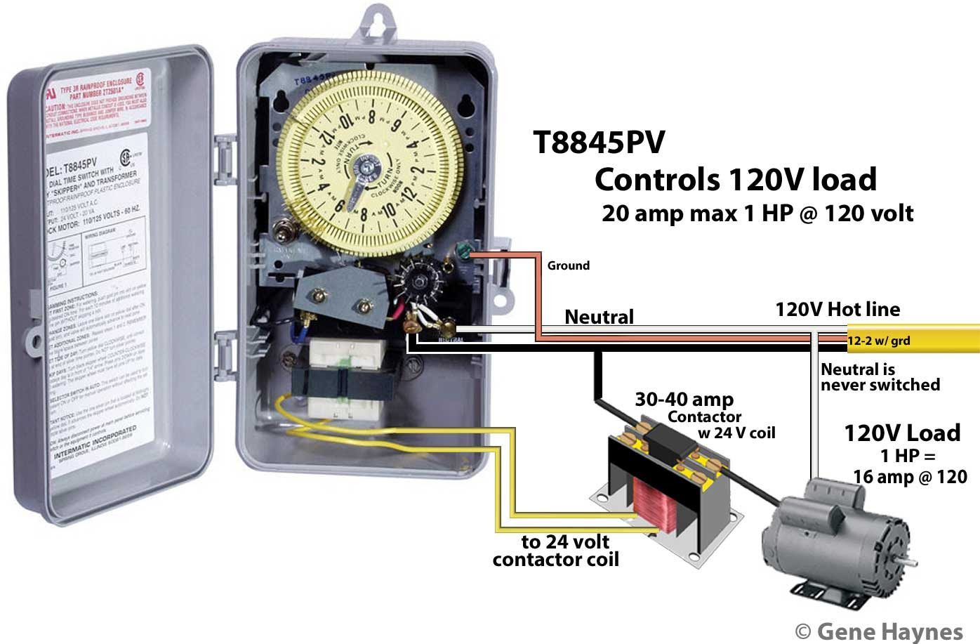 Intermatic Timer Wiring Diagram